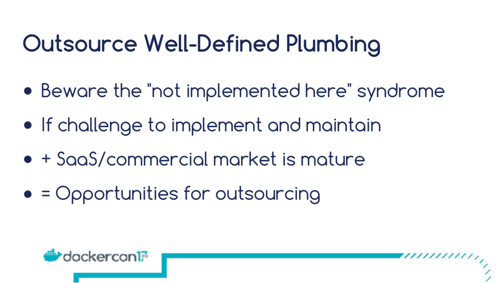 """Outsource Well-Defined Plumbing ● Beware the """"n..."""