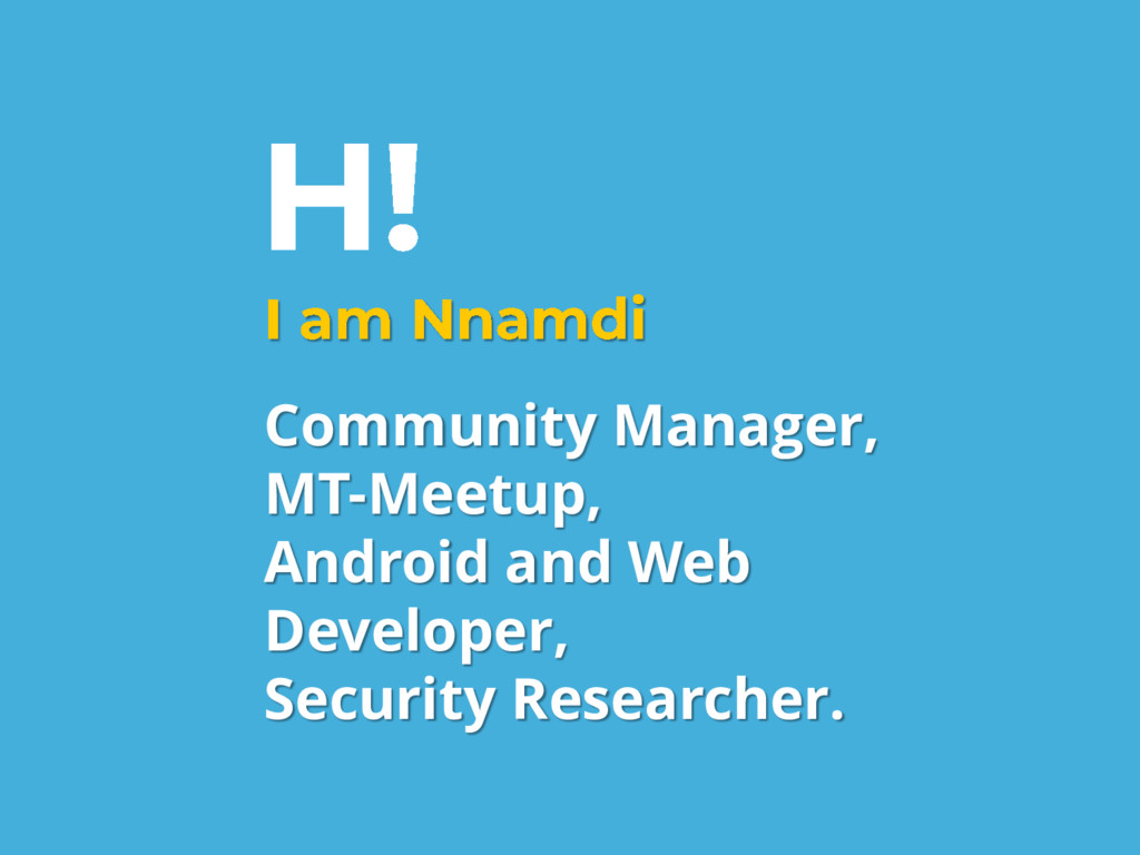 Community Manager, MT-Meetup, Android and Web D...
