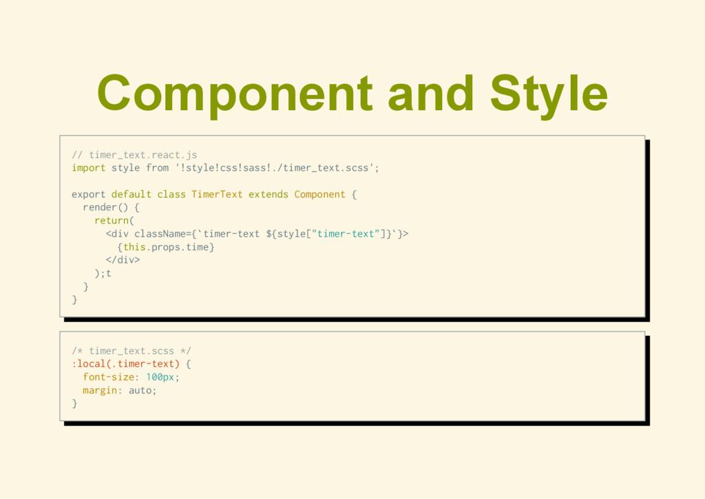 Component and Style / / t i m e r _ t e x t . r...