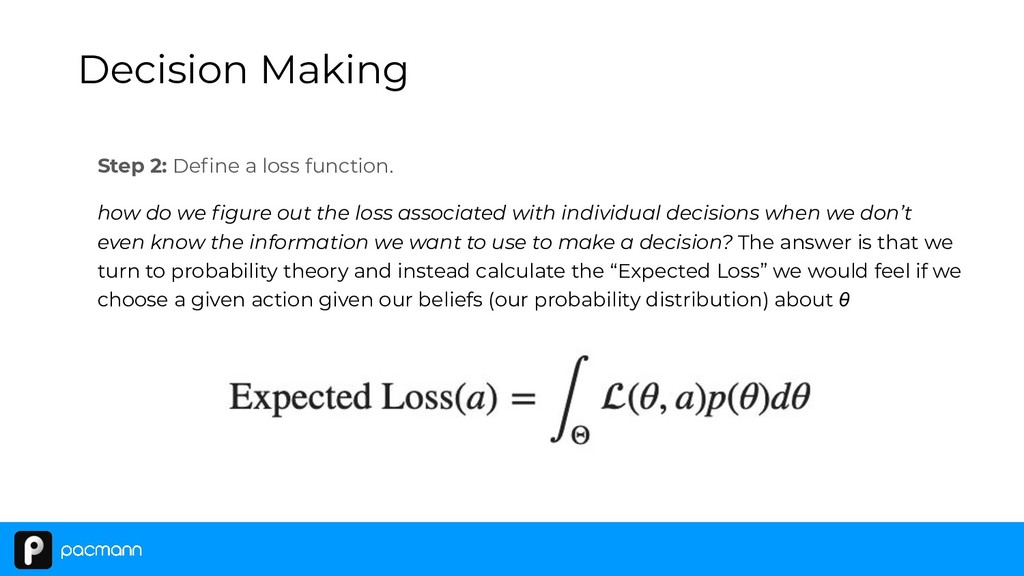 Step 2: Define a loss function. how do we figure ...