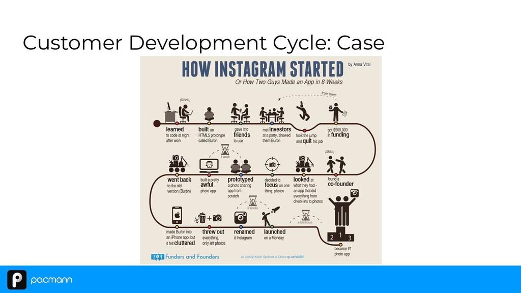 Customer Development Cycle: Case