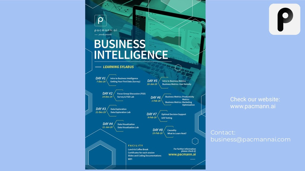 Check our website: www.pacmann.ai Contact: busi...