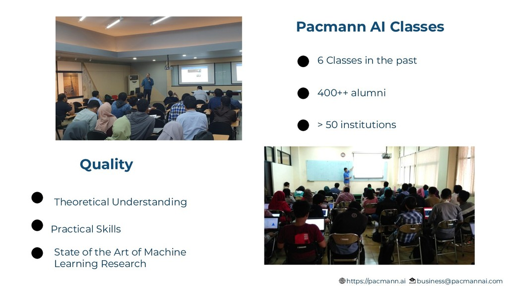 Pacmann AI Classes Quality State of the Art of ...