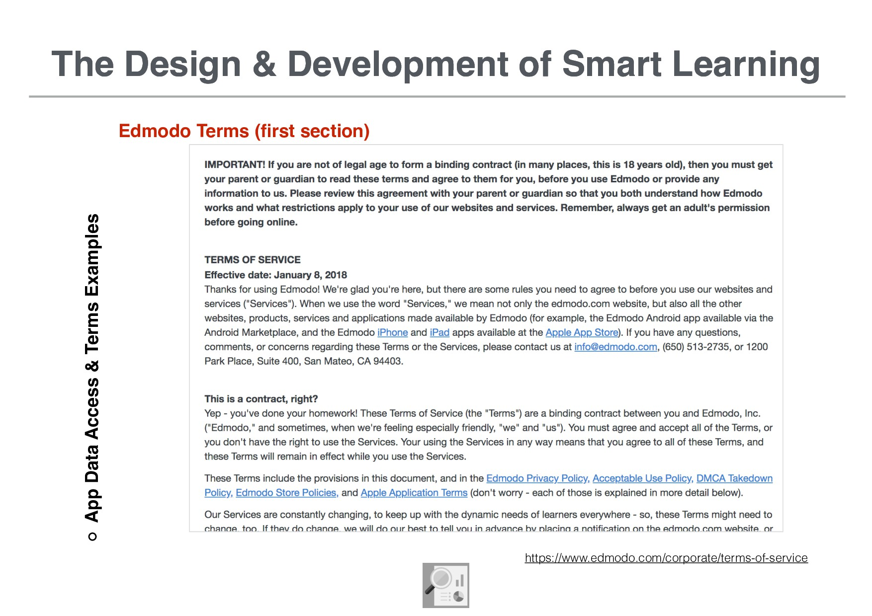 The Design & Development of Smart Learning App ...