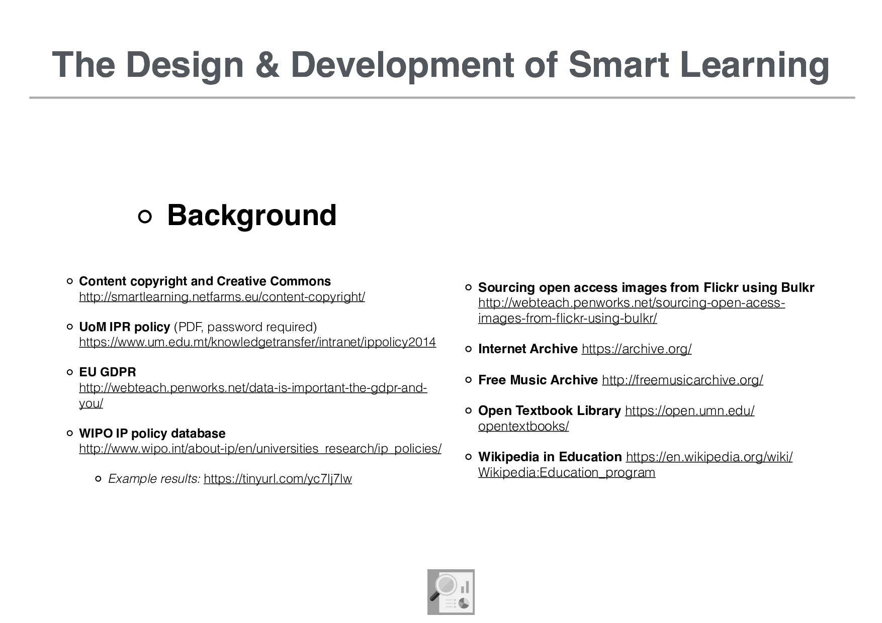 The Design & Development of Smart Learning Back...