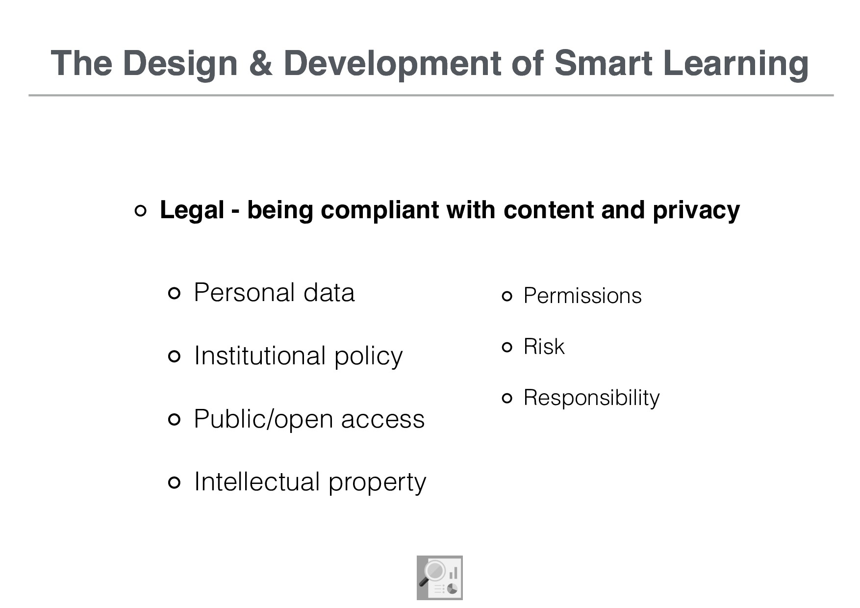 The Design & Development of Smart Learning Lega...