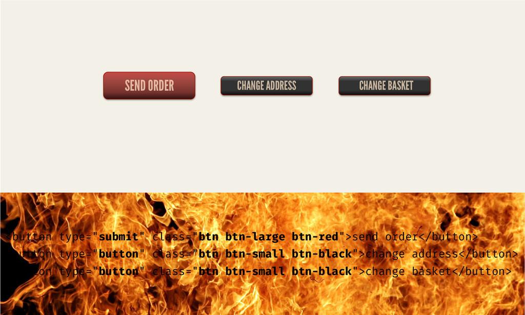 """SEND ORDER CHANGE ADDRESS <button type=""""submit""""..."""