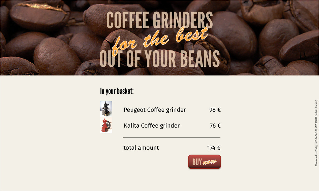 OUT OF YOUR BEANS COFFEE GRINDERS BUY Peugeot C...