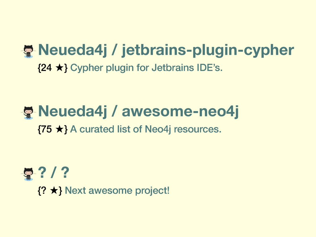 Neueda4j / awesome-neo4j {75 ̣} A curated list ...