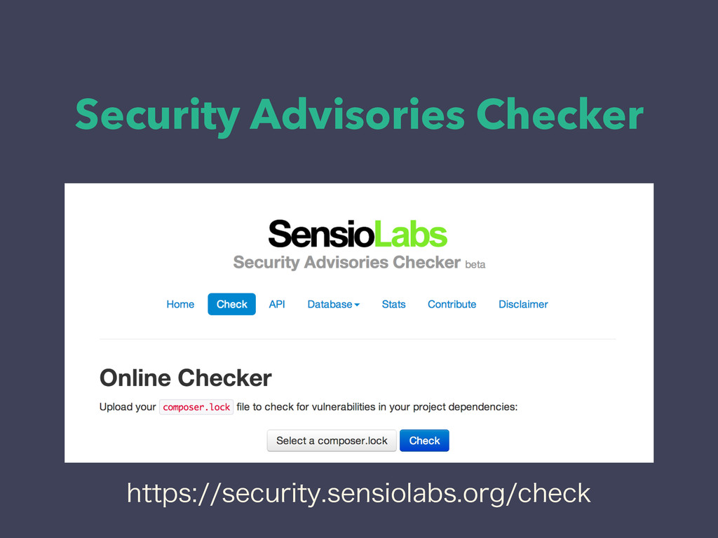 Security Advisories Checker IUUQTTFDVSJUZTF...