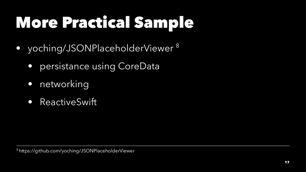 More Practical Sample • yoching/JSONPlaceholder...