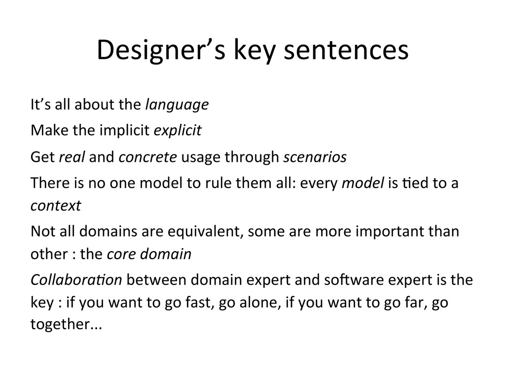 Designer's	