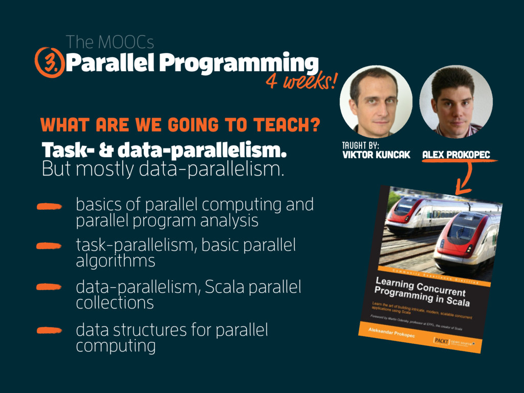 Parallel Programming The MOOCs basics of parall...