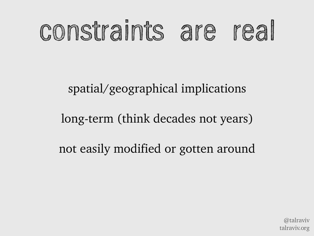 @talraviv talraviv.org constraints are real spa...