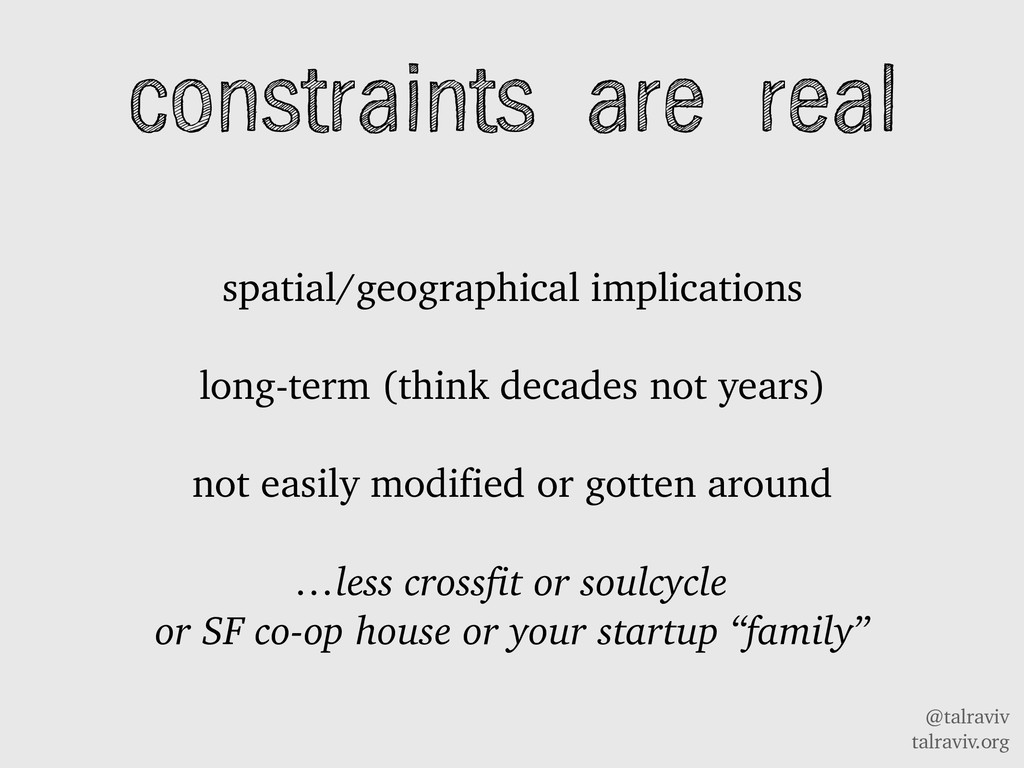 @talraviv talraviv.org constraints are real spa...