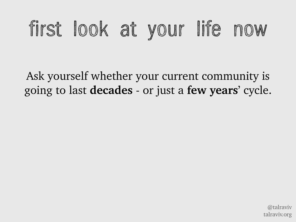 @talraviv talraviv.org Ask yourself whether you...
