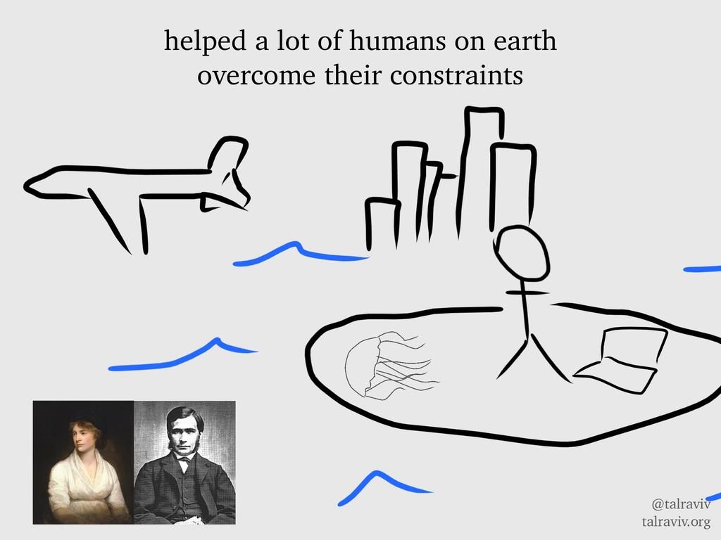 @talraviv talraviv.org helped a lot of humans o...