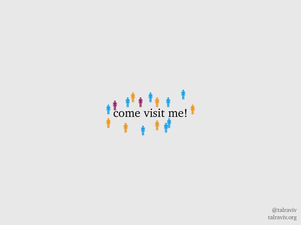 @talraviv talraviv.org come visit me!