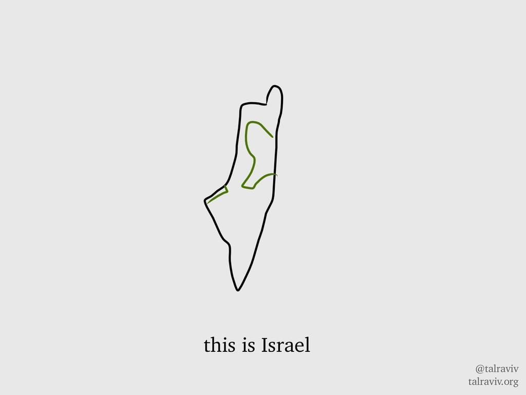 @talraviv talraviv.org this is Israel