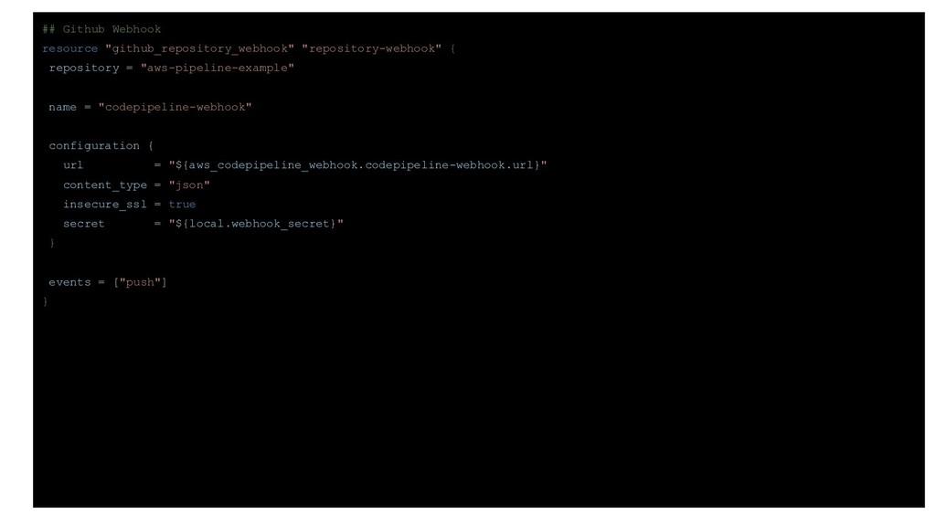"""## Github Webhook resource """"github_repository_w..."""