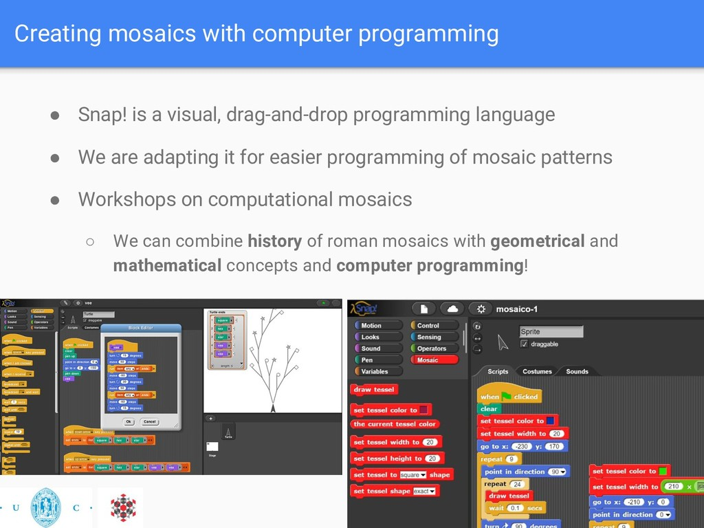 Creating mosaics with computer programming ● Sn...