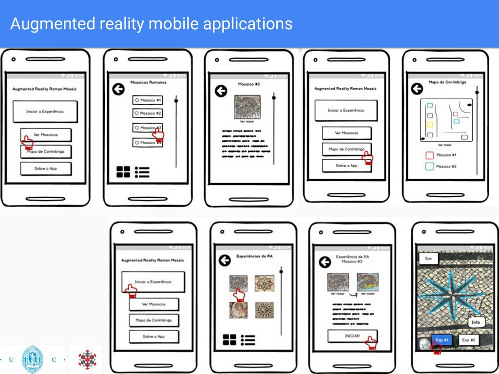 Augmented reality mobile applications