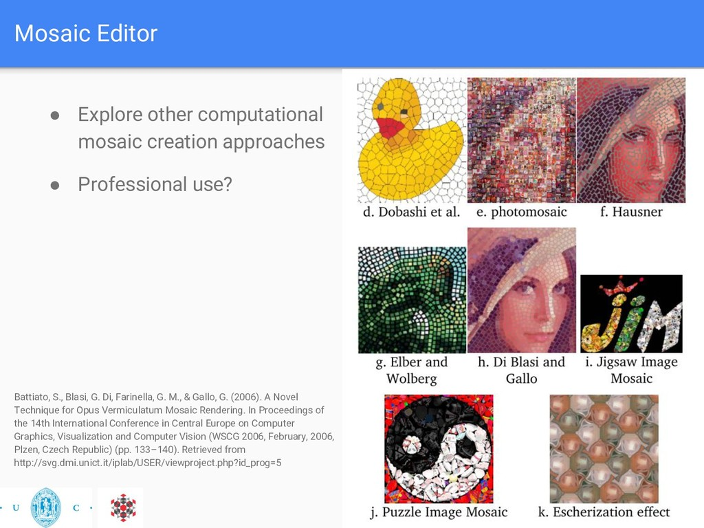 Mosaic Editor ● Explore other computational mos...