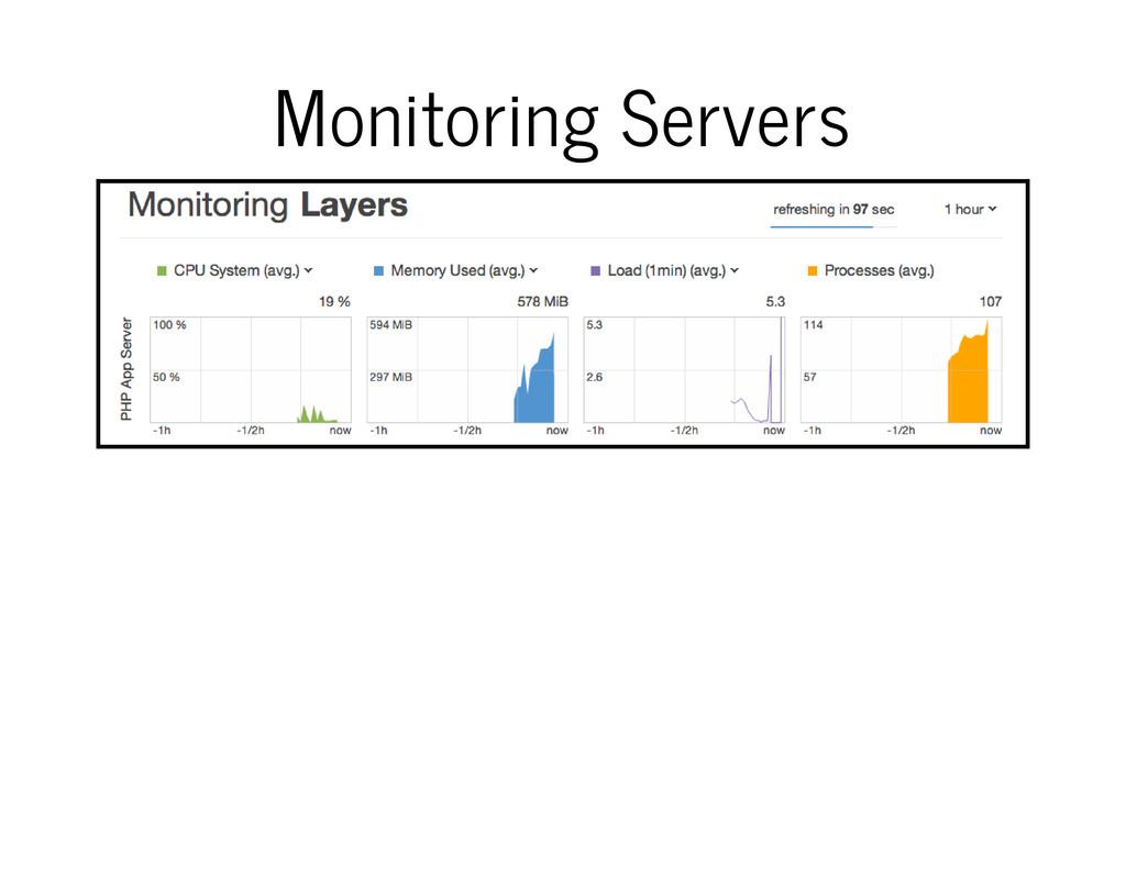 Monitoring Servers
