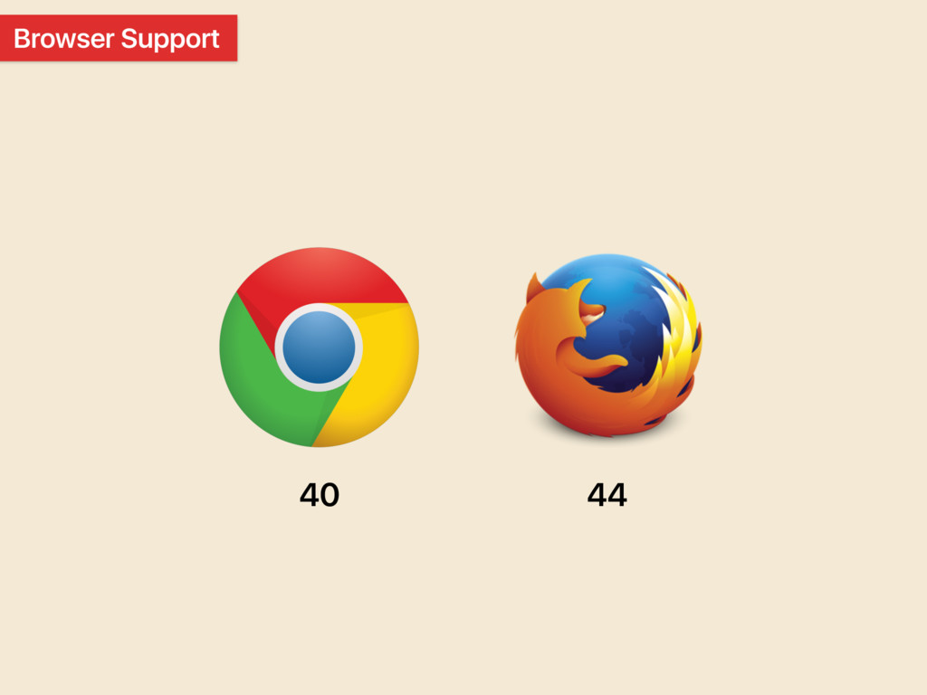 Browser Support 40 44