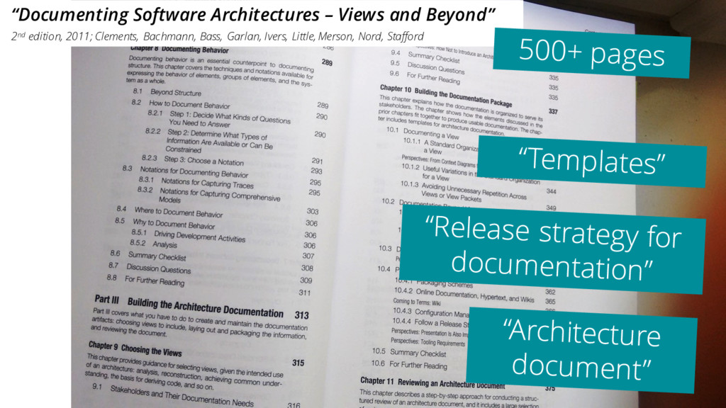 """Documenting Software Architectures – Views and..."