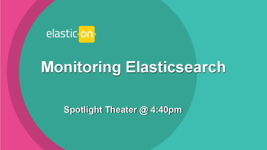 ‹#› Spotlight Theater @ 4:40pm Monitoring Elast...