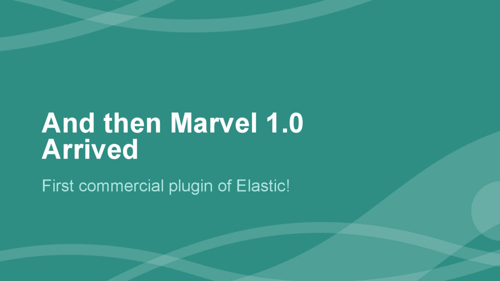 ‹#› And then Marvel 1.0 Arrived First commercia...
