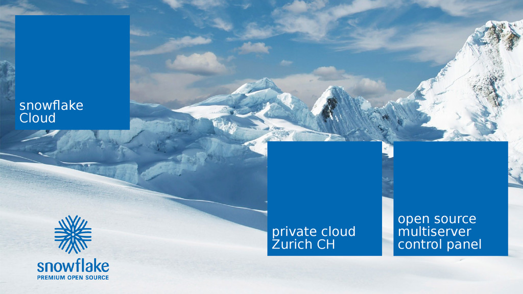 snowflake | T3CON15 1/16 snowflake Cloud open s...