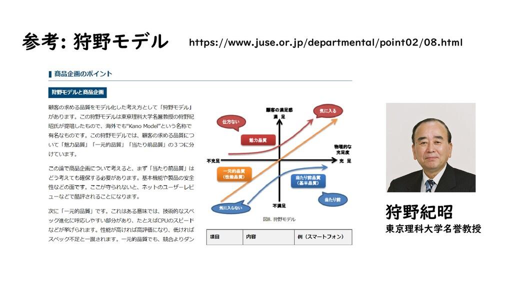 参考: 狩野モデル https://www.juse.or.jp/departmental/p...