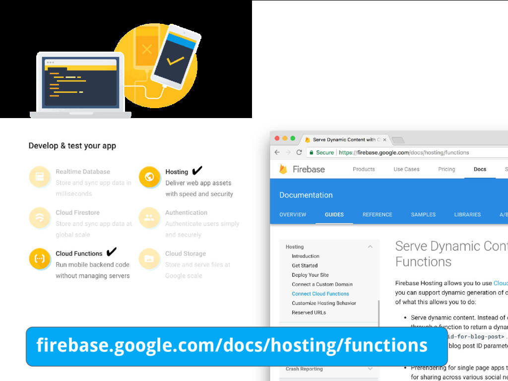#dfua ✔ ✔ firebase.google.com/docs/hosting/func...