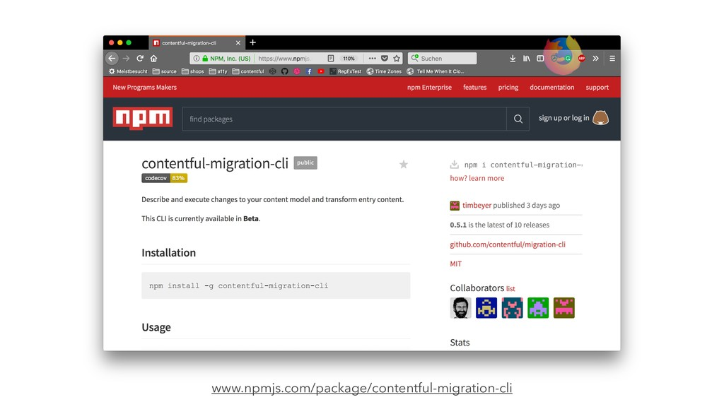 www.npmjs.com/package/contentful-migration-cli