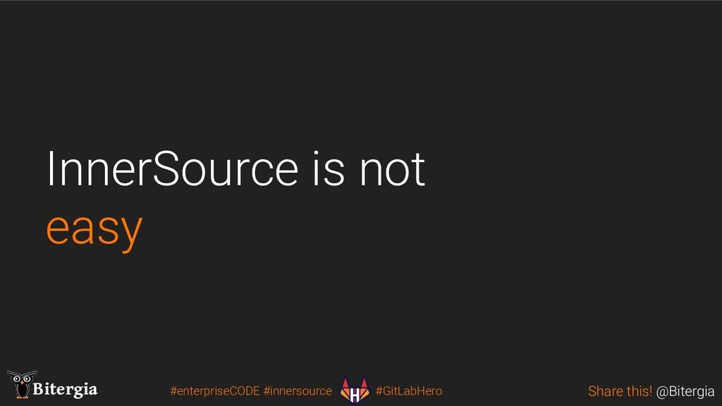 Share this! @Bitergia Bitergia #enterpriseCODE ...