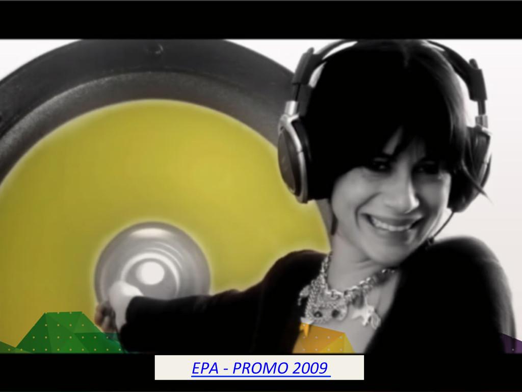 EPA -‐ PROMO 2009