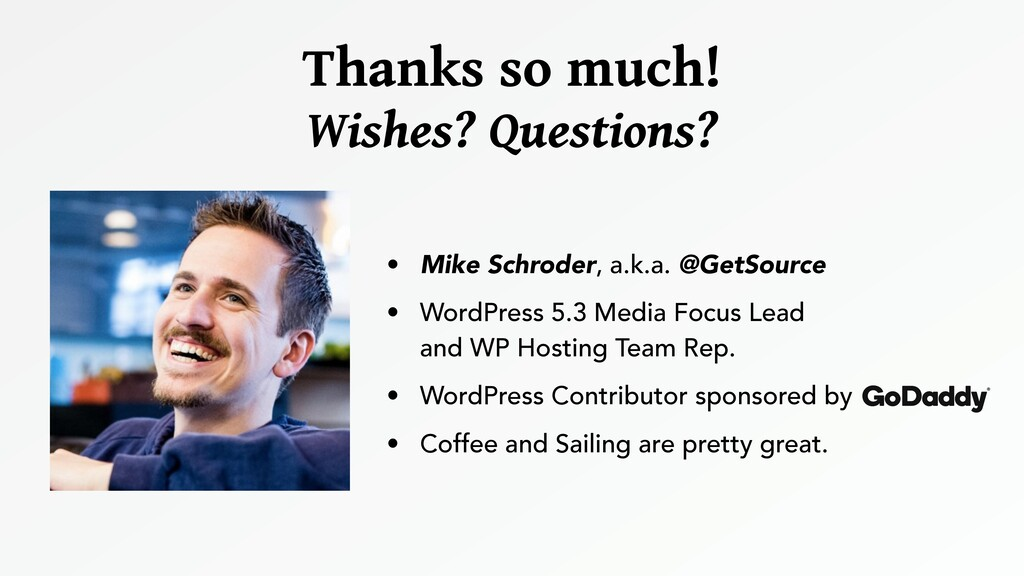 • Mike Schroder, a.k.a. @GetSource • WordPress ...