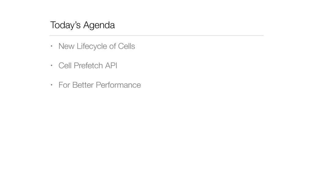 Today's Agenda • New Lifecycle of Cells • Cell ...