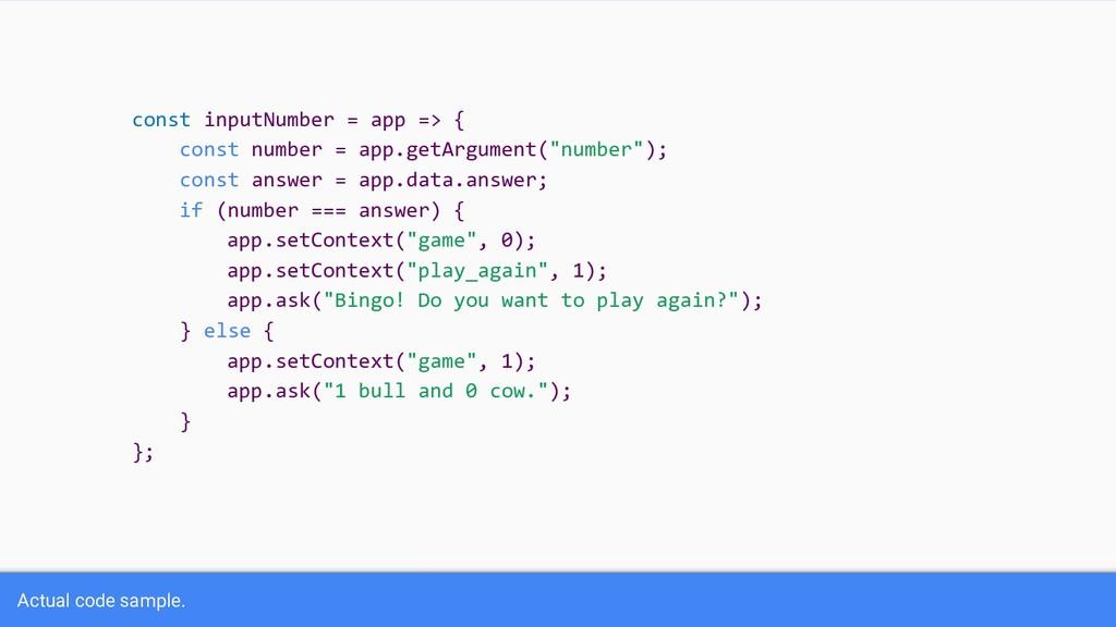 const inputNumber = app => { const number = app...