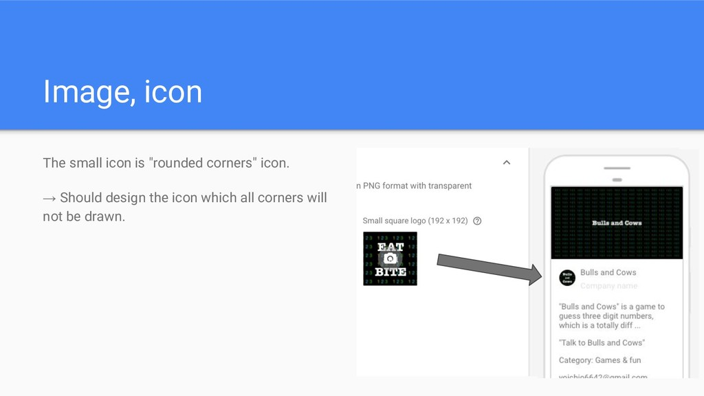 """Image, icon The small icon is """"rounded corners""""..."""