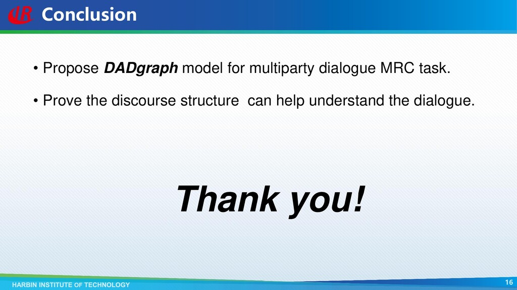 Conclusion • Propose DADgraph model for multipa...