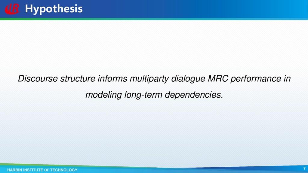 Hypothesis Discourse structure informs multipar...