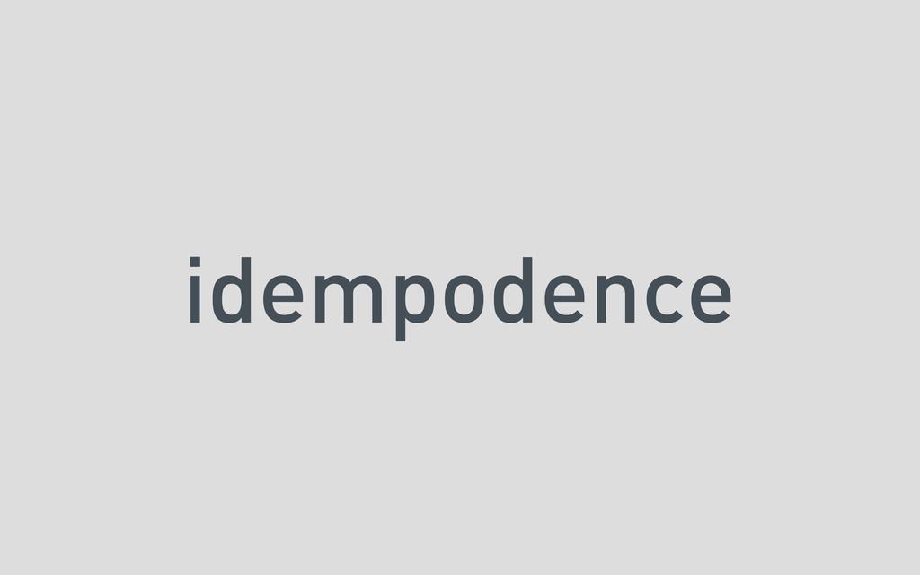 idempodence
