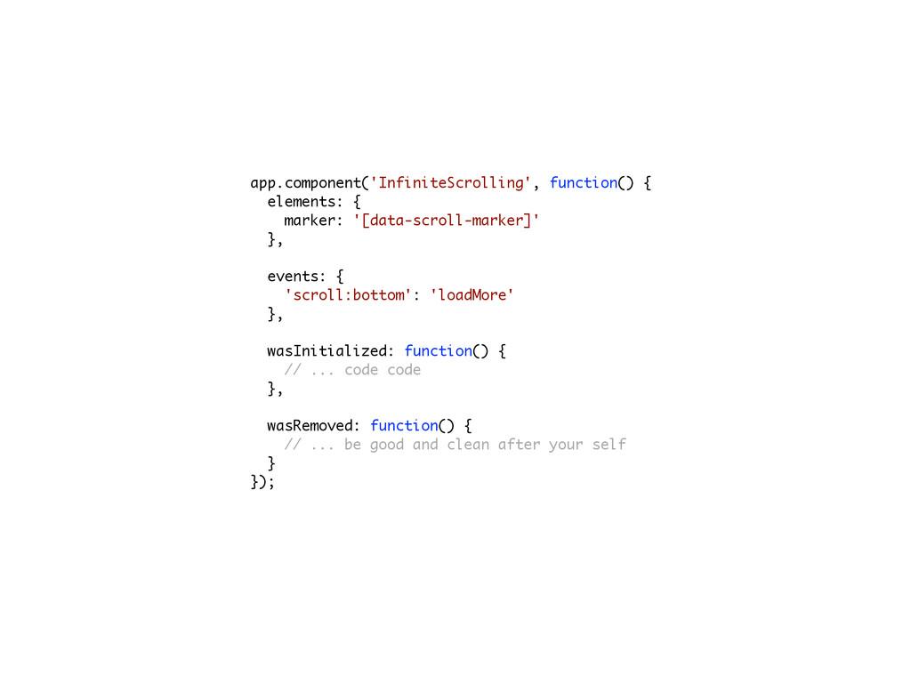 app.component('InfiniteScrolling', function() {...