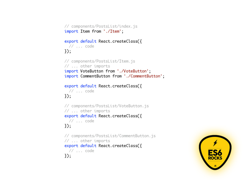 // components/PostsList/index.js import Item fr...