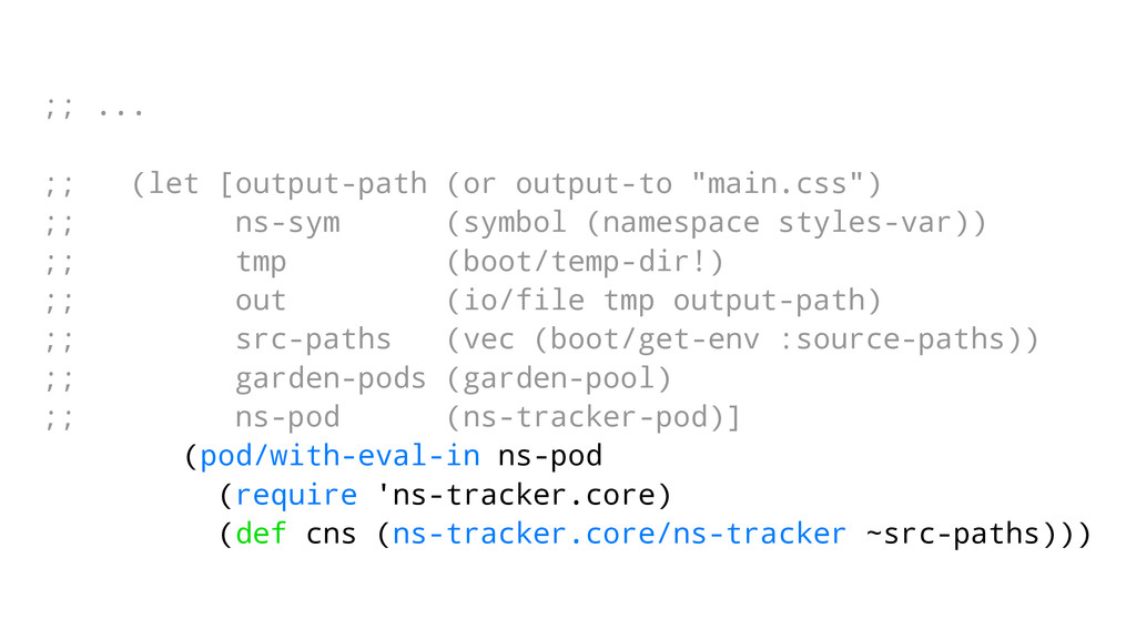""";; ... ;; (let [output-path (or output-to """"main..."""