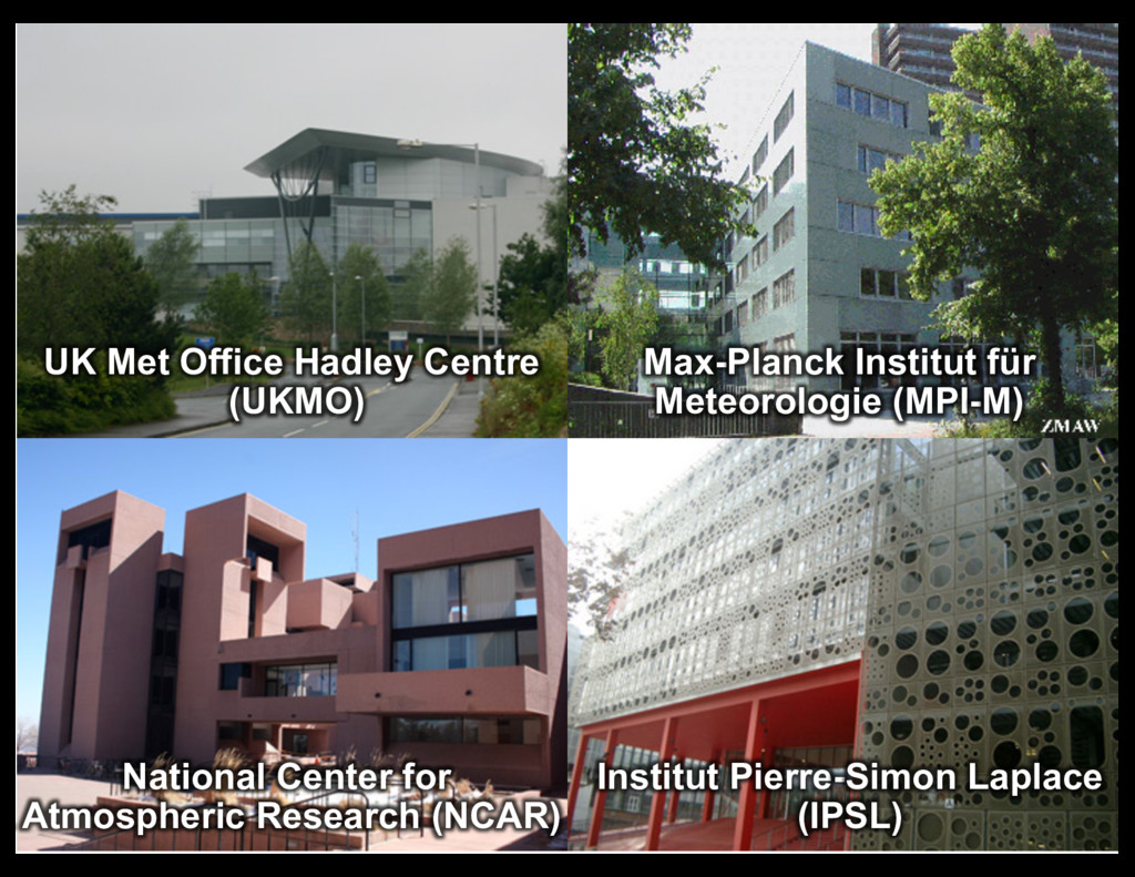 25 UK  Met  Office  Hadley  Centre   (UKMO) Max...