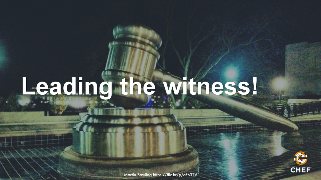 Leading the witness! Martin Bowling https://flic...